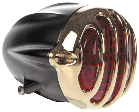 alcatraz brass motorcycle taill lights 5
