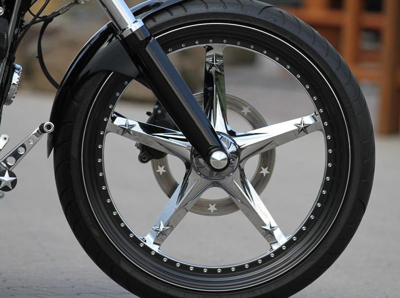 custom wheels for m8 harleys