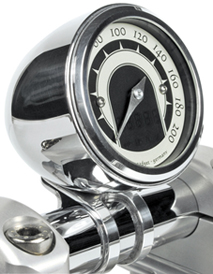 De Luxe Motorcycle Speedo Housing