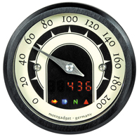 Speedster Mini Motorcycle Speedo