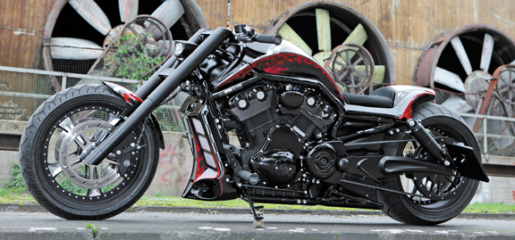 pulley-brake kit for v-rod 3