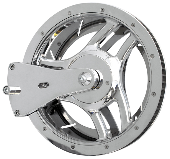 pulley rotor kit for v rods 2