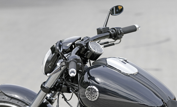 headlight and fairing kit for breakout 2