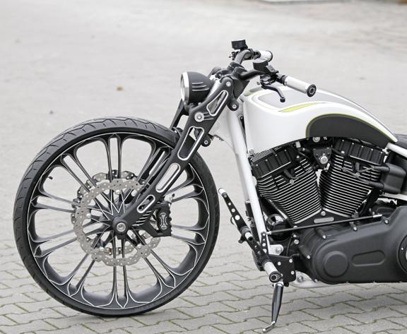 motorcycle fork design