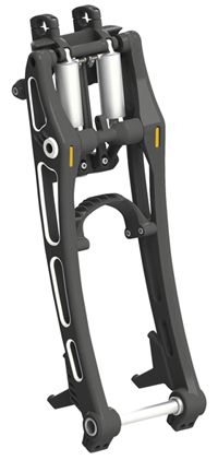 Unbreakable Motorcycle Front Fork for Softails