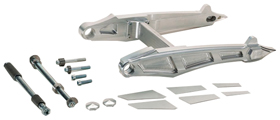 Cut-Out Swingarm Kit for V-Rods for Up to 330 Tires