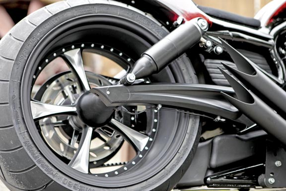 air ride suspension for v-rods and v-rod muscles 3