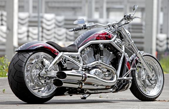 air ride suspension for v-rods and v-rod muscles 4