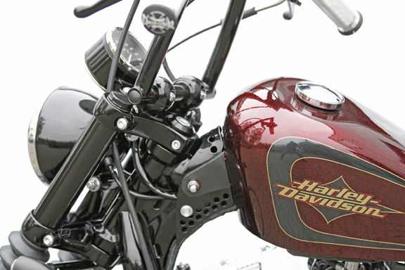 gas tank pin-up kit for sportster 2