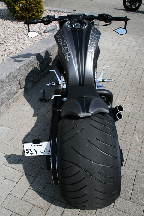 speed demon rear fender for v rod 10