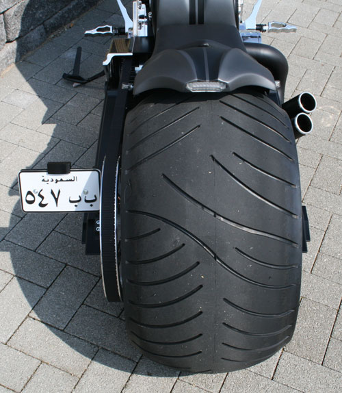 speed demon rear fender for v rod 11