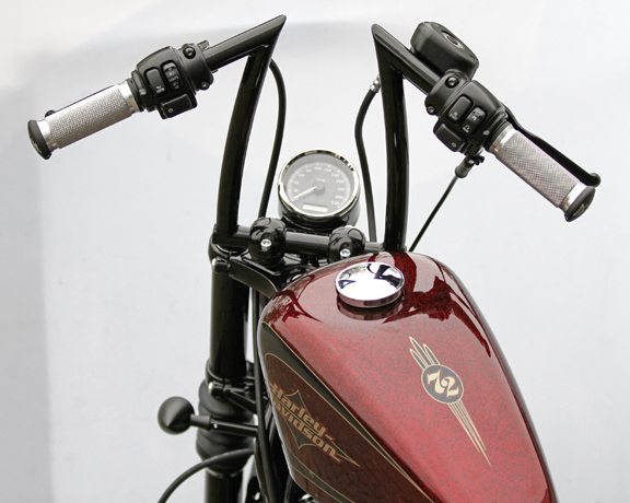 speedo bracket for sportster 72 3