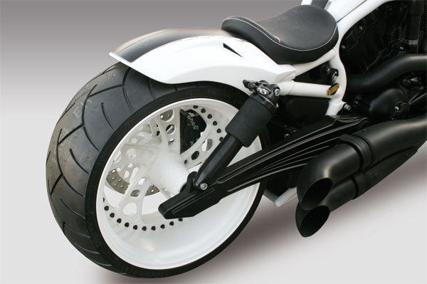 turbo rear fender for v rod 2