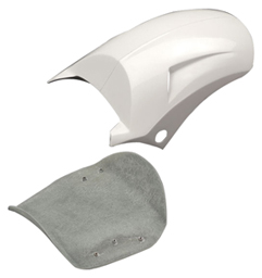 Turbo Rear Fender for V-Rod's