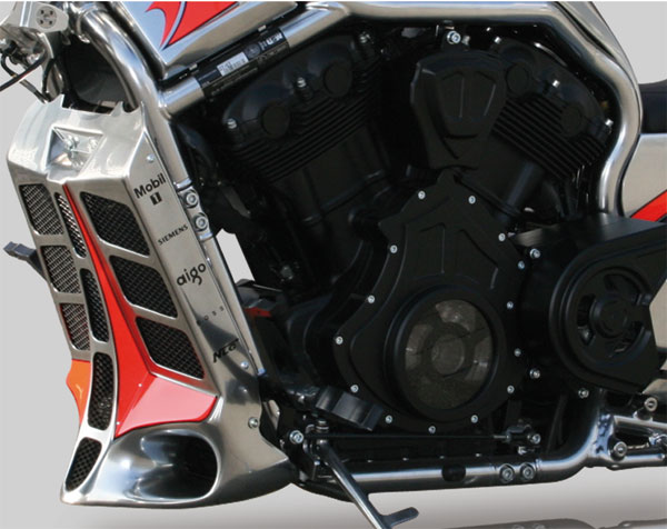v rod radiator cover 4