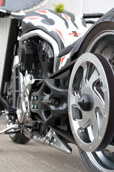 Single Sided Swingarm Kit For V Rods For Up To 330 Tires