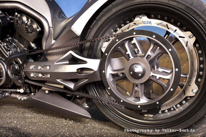 v rod single sided swingarm 3