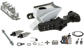 Single-Sided Swingarm Kit for V-Rods for Up to 330 Tires
