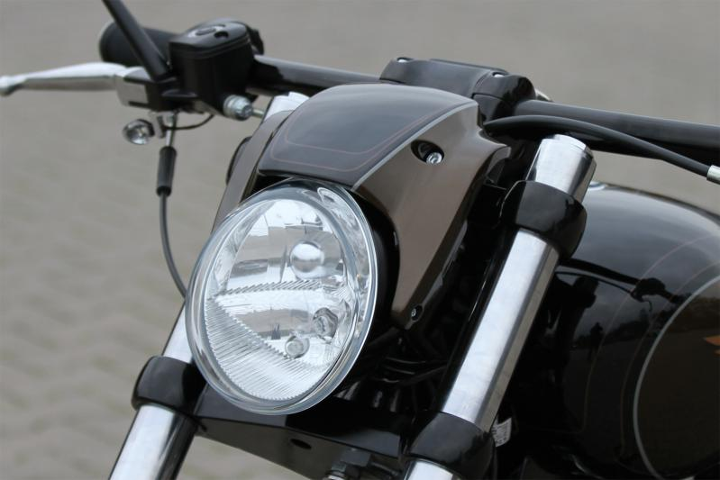 Headlight And Fairing Kit For Harley Breakout Custom