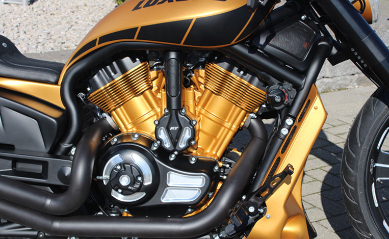 v-rod clutch cover 2