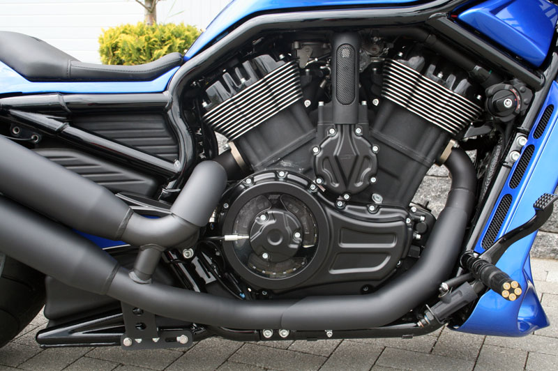 v rod muscle clutch cover 4