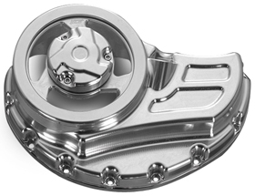 Cut-Out Clutch Cover for V-Rod Muscles