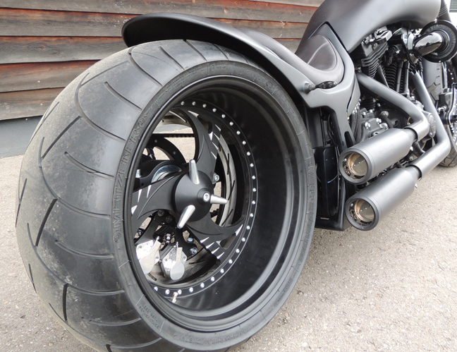 300 330 tire evo single sided swingarm 5