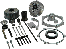 300 Tire / 330 Tire Transmission Offset Kit for 2014-up Twin Cam Softail and Breakout Models