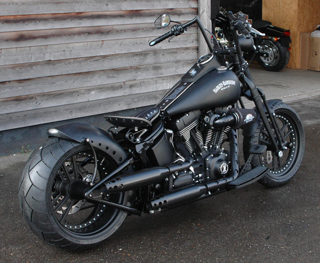 280 tire 300 tire motorcycle swingarm conversion kits for 2014 up twin cam softails. Black Bedroom Furniture Sets. Home Design Ideas