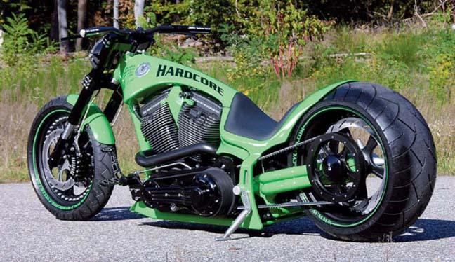 330 tire harley frame 14