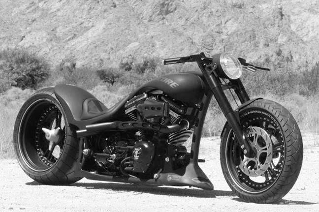 330 tire harley frame 21