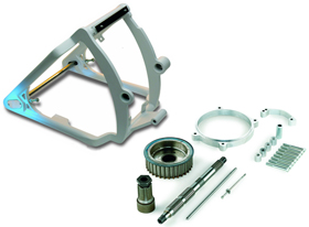 280 / 300 Tire Motorcycle Swingarm Conversion Kits for Evolution Softails