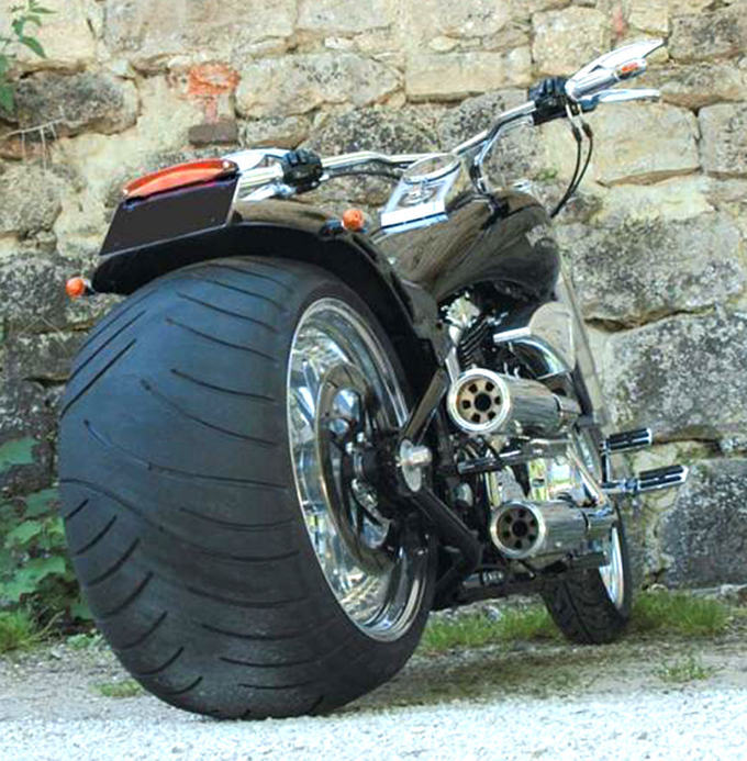 330 tire swingarm for twin cam softail