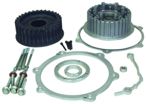 330 tire transmission offset kit for twin cam softails 1