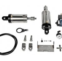 air-ride suspension kit for 2009-up touring models (one air-ride shock + one conventional shock)