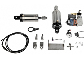 air-ride suspension kit for 2013-up street glide - 2013 road glide custom - 2010-12 street glide CVO - 2012-13 road glide CVO - 2013-14 road king CVO (one air-ride shock, re-use O