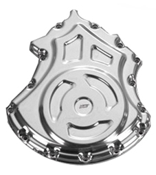 alternator cover solid for v-rod's - polished