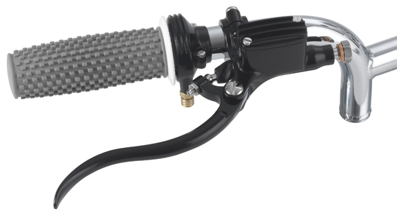 black harley throttle housing 3