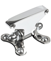 bracket for individual mounting of alcatraz - ring - speedo housing and alcatraz - unbreakable taillight polished