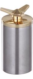 cap chopper brass spinner for weld-in steel tanks