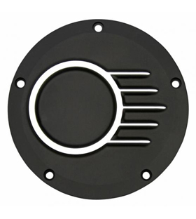 clutch cover unbreakable black with CNC machined details