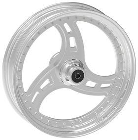 Three Spoke Cut Custom Motorcycle Wheels