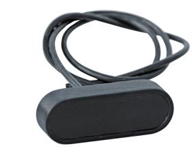 digital speedo Micro with housing black