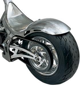 drag rear fender for 280 tires - pre-welded to frame