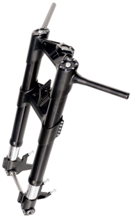 fork RS for sotck softail frames black