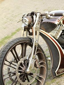 Unbreakable Motorcycle Front Fork for Softails – Custom