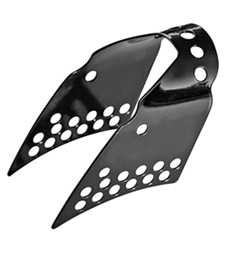 gas tank pin-up kit for sportster models black powder coated