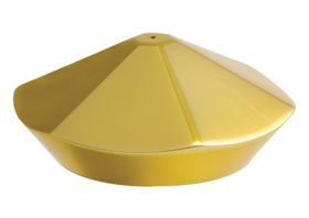 hand controls bling reservoir cap gold