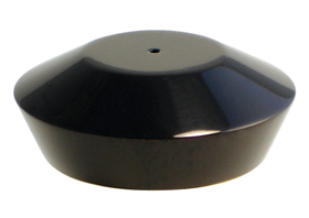 hand controls smooth reservoir cap black