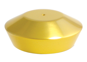 hand controls smooth reservoir cap gold